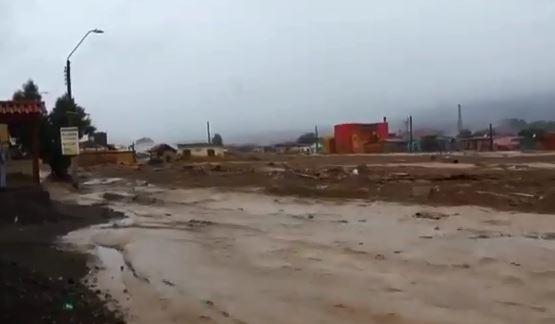 El desborde del Río Pilcomayo es histórico.