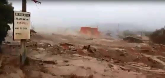 El Río Pîlcomayo deja un destrozo a su paso. Cuando las aguas bajen el problema será peor.