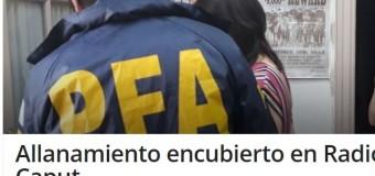 CENSURA – Régimen | Patota del régimen macrista irrumpe en Radio Caput.