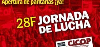 BUENOS AIRES – Régimen | Jornada de lucha de los trabajadores de la salud bonaerense.