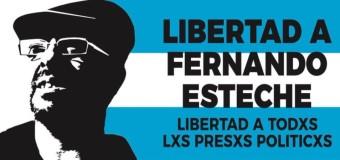 PERSECUCIÓN POLÍTICA – Régimen | Liberan con domiciliaria al Profesor Esteche pero debe pagar $ 400 mil.