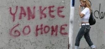 SOBERANÍA – Régimen | Habitantes de Misiones se manifestaron en contra de bases yanquis en Argentina.
