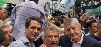 POLÍTICA – Peronismo | Los peronistas se reunieron para repudiar la ocupación del partido por parte del macrista Barrionuevo.