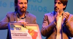 MUNDO – España   Pablo Iglesias recibió un Doctorado Honoris Causa en Argentina.