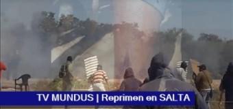 TV MUNDUS – Noticias 251 – FLASH | Urtubey reprime a comunidad de La Curvita por pedir agua y comida.