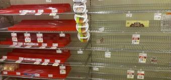 ECONOMÍA – Régimen | La economía cotidiana se detiene por falta de precios.