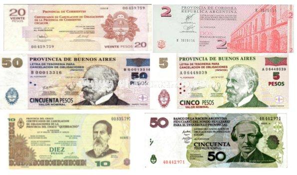 Cuasimonedas_Argentinas