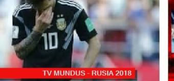 TV MUNDUS- Deporvida 332 | RUSIA 2018 | Empate de Argentina en su debut.