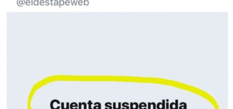 CENSURA – Régimen | Los yanquis censuran el Twitter de EL Destape por develar las estafas de Vidal.