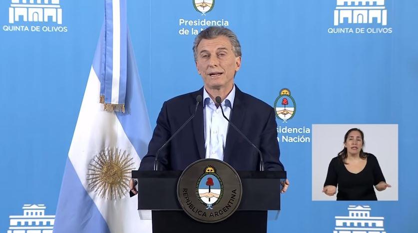 El Presidente Mauricio Macri pareció alienado de la realidad.
