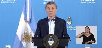 FALACIAS – Régimen | Macri dijo que los problemas son heredados.