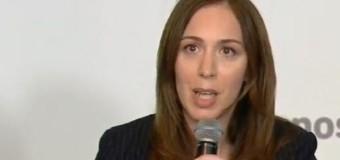 CORRUPCIÓN – Régimen | Puesta en escena de María Vidal para escapar de las denuncias por plata sucia.