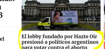 DERECHOS HUMANOS – Senado | Estos son los Senadores que votaron por la continuidad de los abortos clandestinos y la muerte de mujeres pobres.