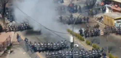 Vidal mandó reprimir a los trabajadores del Astillero Río Santiago.