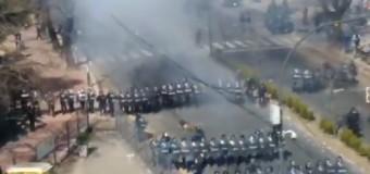 TRABAJADORES – Régimen | Brutal represión a los trabajadores del Astillero Río Santiago por orden de María Vidal.