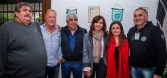 TRABAJADORES – Política | Cristina Fernández, Pignanelli, Hugo Moyano y Plaini compartieron escenario en acto de SMATA.