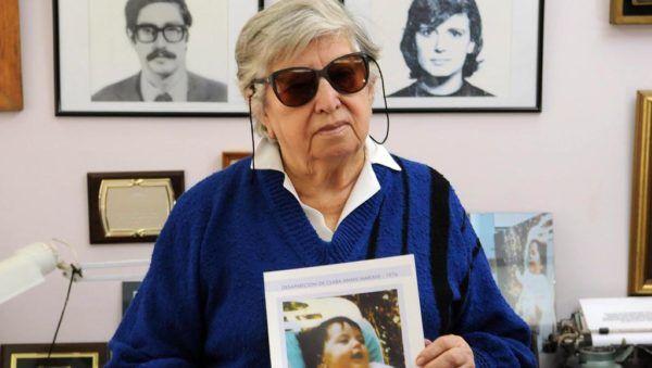 Chicha Mariani, fundadora de Abuelas de Plaza de MAyo.