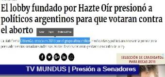 TV MUNDUS – Noticias 256 | Presionaron a Senadores en el rechazo al IVE
