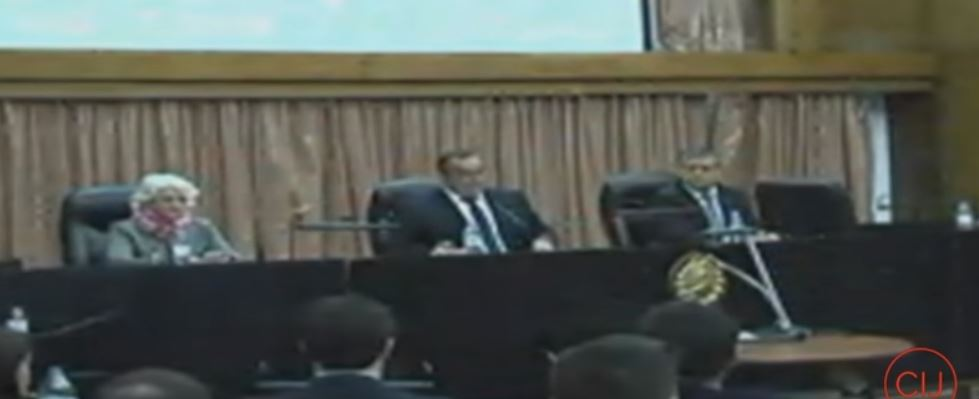 Por venganza al haber estatizado a las AFJP, el Tribunal Oral Federal nº 4 (foto) condenó al ex Vicepresidente Amado Boudou con una causa armada.