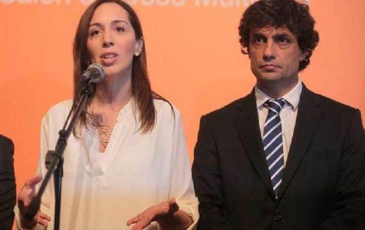 María Vidal y Hernán Lacunza. No se preocuparon por el problema de Adidas.