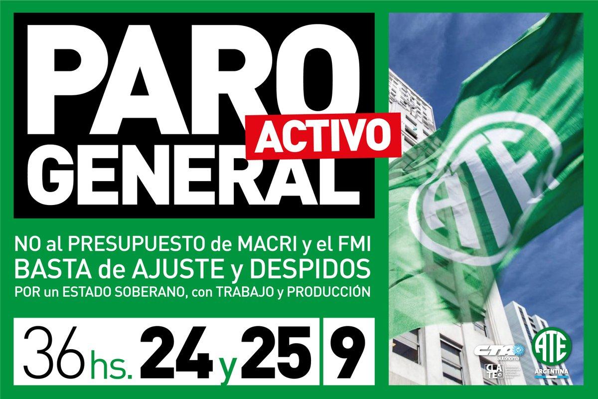 ATE_Nacional_Paro