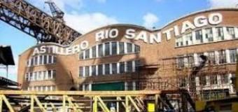 TRABAJADORES – Régimen | Los trabajadores del Astillero Río Santiago protestan tomando el Ministerio de Economía de Vidal.