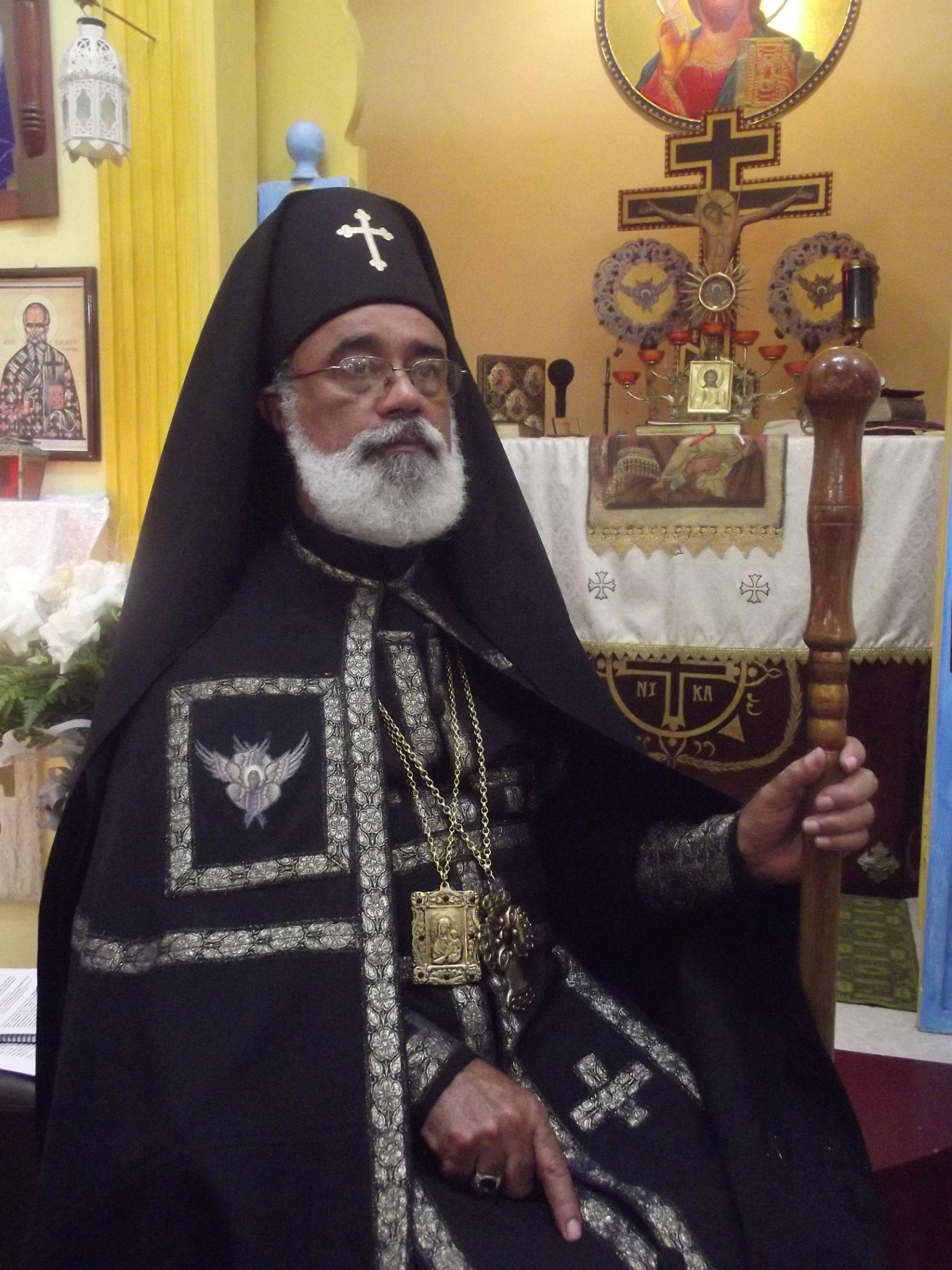 Athanasios 1º, Patriarca de la Iglesia Ortodoxa Bielorrusa Eslava en el extranjero.