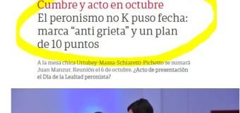 EDITORIAL – Política | Por orden de Macri, Pichetto, Massa, Schiaretti, Urtubey y Manzur crearán un falso peronismo.