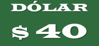 ECONOMÍA – Régimen | La desconfianza en Macri llevó el dólar a $ 40,16.