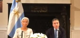 ECONOMÍA – Régimen | Argentina entregó su soberanía económica al Fondo Monetario Internacional (FMI).