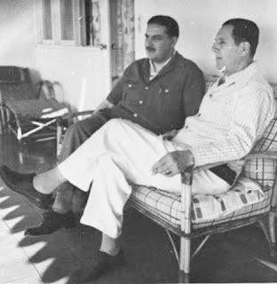 J. W. Cooke y Juan Perón en el exilio.