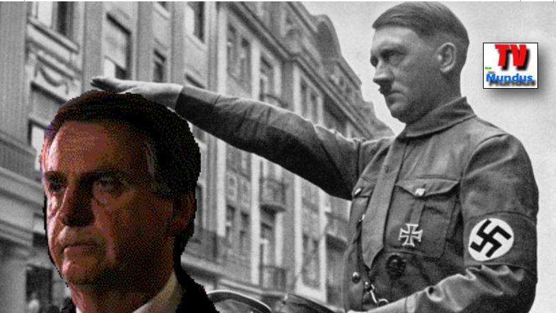 73 años después de Hitler, Bolsonaro llegó a Brasil apoyado incluso por los judíos.