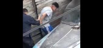 DERECHOS HUMANOS – Régimen | Violento arresto de la Policía de Vidal.