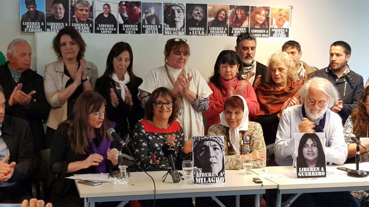 Las organizaciones de Derechos Humanos pidieron seguir luchando por la libertad de Milagro Sala.
