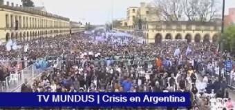 TV MUNDUS – Noticias 263 | Multitudinaria marcha a Luján del Frente Sindical