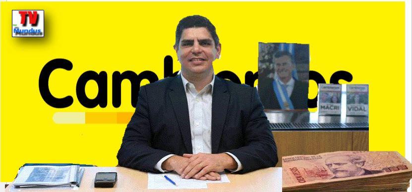 Lucas Apricio, el macrista del que depende la Secretaría de Trabajo.