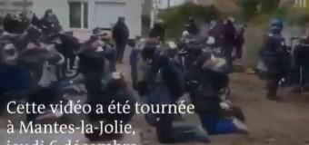 MUNDO – Francia | Macron trata como delincuentes a estudiantes secundarios.