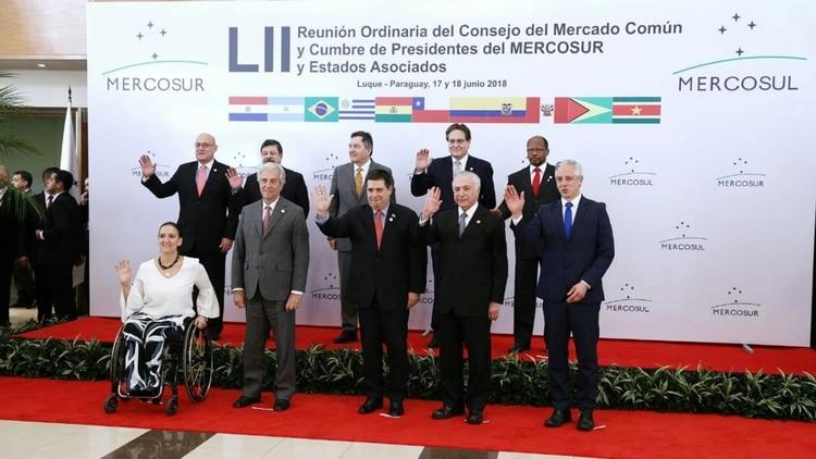 Mercosur 2018. Una fantochada de regímenes antipopulares.