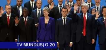 TV MUNDUS – Noticias 265 | Cumbre del G 20 en Buenos Aires. Papelones y ningún resultado.