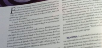 ECONOMÍA – Régimen   The Economist ve incertidumbre en el panorama argentino.