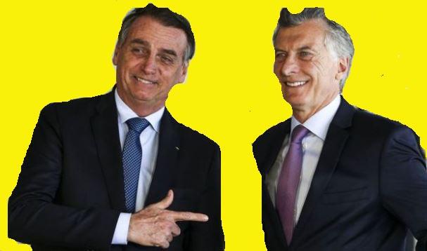 Los regímenes de Brasil y Argentina apoyaron al terrorista Juan Guaidio.
