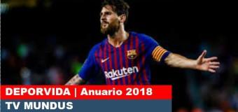 TV MUNDUS – Deporvida 342 |  Anuario 2018
