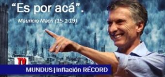 TV MUNDUS – Noticias 267 | La peor inflación desde 1991