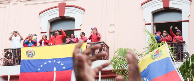 Nicolás MAduro, Presidente legítimo de Venezuela.