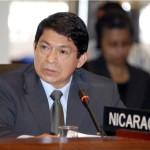 Denis Moncada, canciller de Nicaragua.