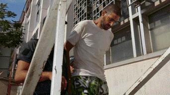 Nicolás Pereg, soldado sionista que mató a su madre y su tía y después escondió los cadáveres en su casa.