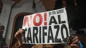 TARIFAZOS – Régimen | Hoy se hará el cuarto ruidazo contra los tarifazos en servicios.