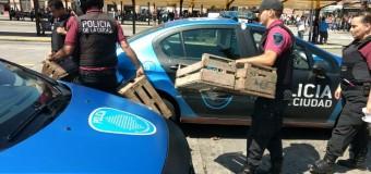 REPRESIÓN – Régimen | La Policía de Rodríguez Larreta disparó gases y golpeó a trabajadores de la tierra.