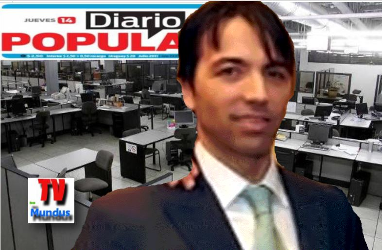 Francisco Fascetto, propietario de Diario Popular. A los periodistas les debe horas extras, bonos y pagos varios.