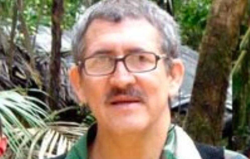 Comandante Antonio García del Ejército de Liberación Nacional de Colombia.